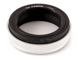 T2 Lens Mount (T-Mount) for Canon R, FL and FD Manual Focus 35mm Film SLR Cameras